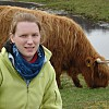 Jennifer Eiffes, Kehlen   Close-up van de Schotse hooglanders
